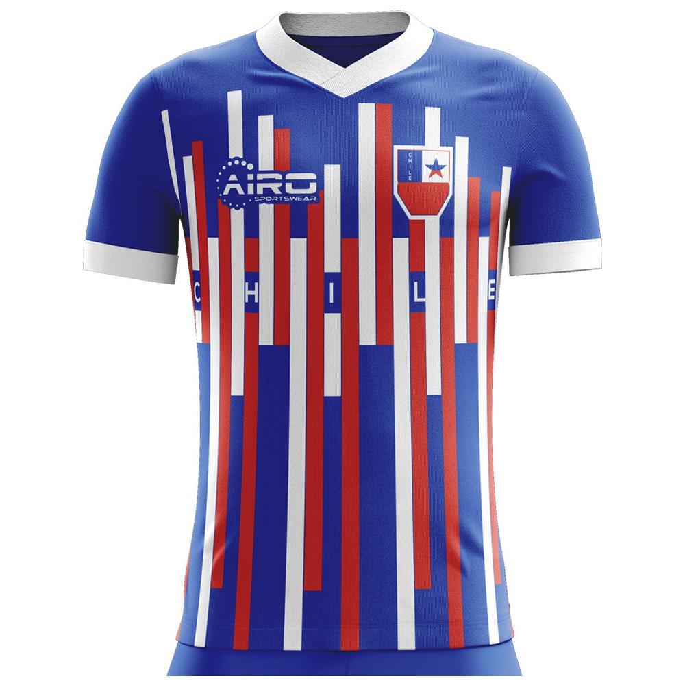 1da46b76a Airo Sportswear - 2018-2019 Chile Away Concept Football Shirt - M Adulto -  ePRICE