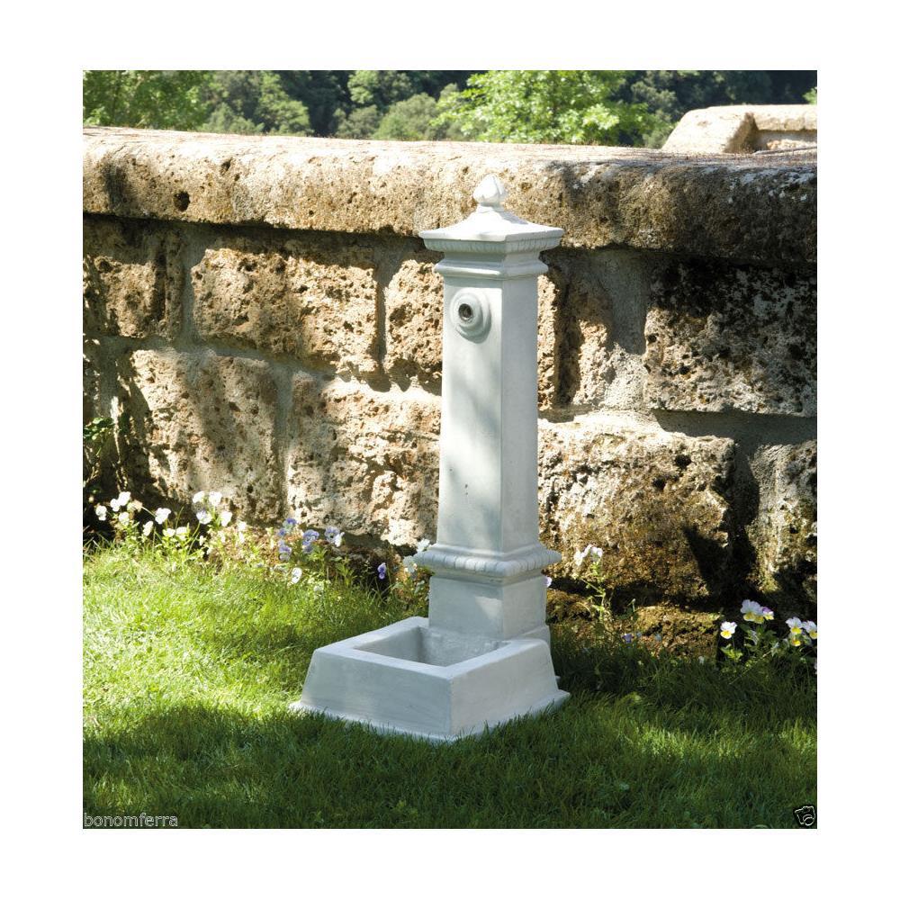 Arten Garden Fontana Da Giardino In Cemento Marmo Pietra Esterno H