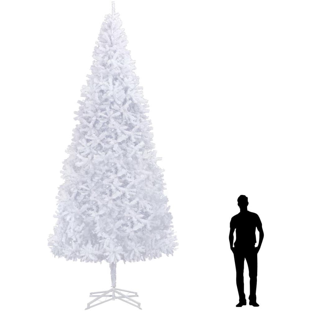 Foto Alberi Di Natale Bianchi vidaxl albero di natale artificiale 500 cm bianco