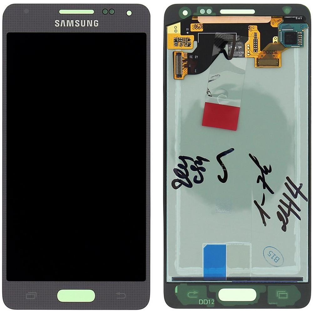 Samsung Display Schermo Lcd Touch Screen Originale Silver Galaxy Alpha G850 Sm Eprice