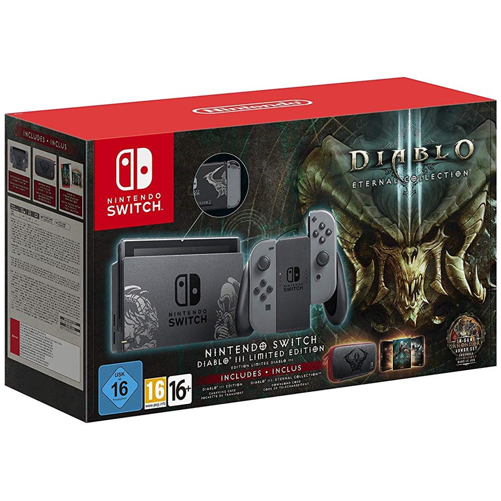 Switch Diablo III Eternal Collection Limited Edition Bundle