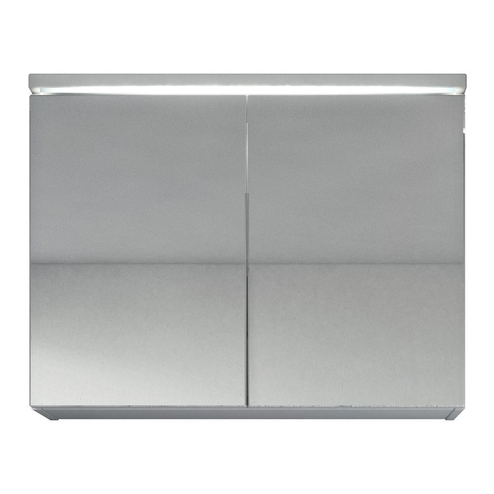 Specchio Bagno Bianco.Badplaats Armadietto A Specchio Paso 80cm Bianco Specchio