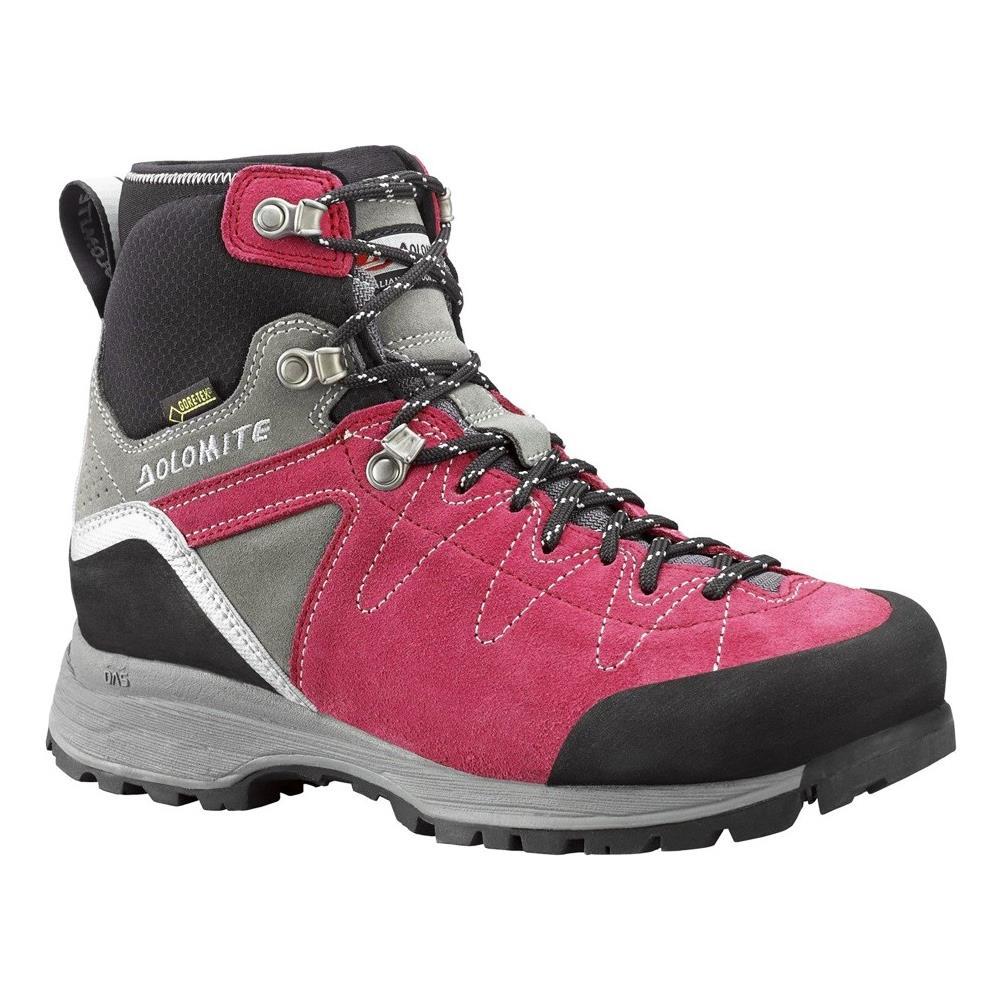 new styles 15c7a 3679d DOLOMITE Scarpe Trekking Steinbock Hike Gore-tex® Wmn - Raspberry  Pink-gunmetal Grey Uk 4.5