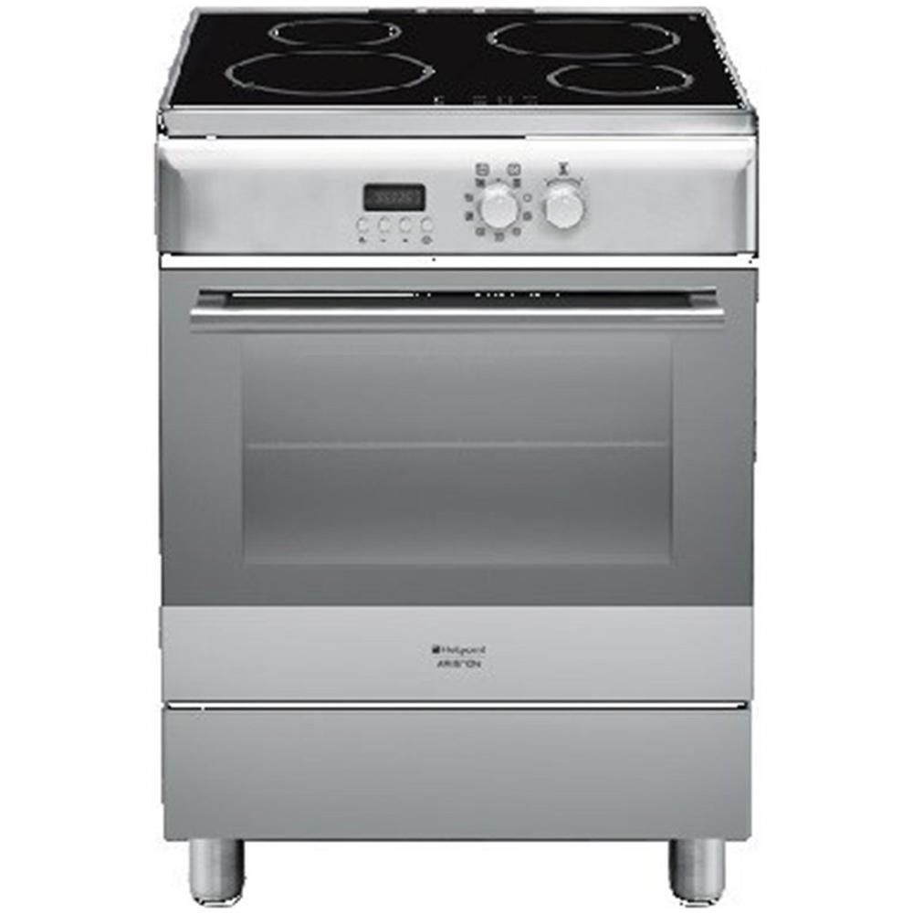 HOTPOINT - Cucina Elettrica H6IMAACX 4 Zone Cottura a Induzione ...