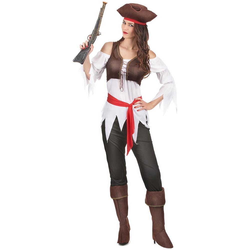 91634c6fecc3 JADEO - Costume Da Pirata Per Donna Small - ePRICE
