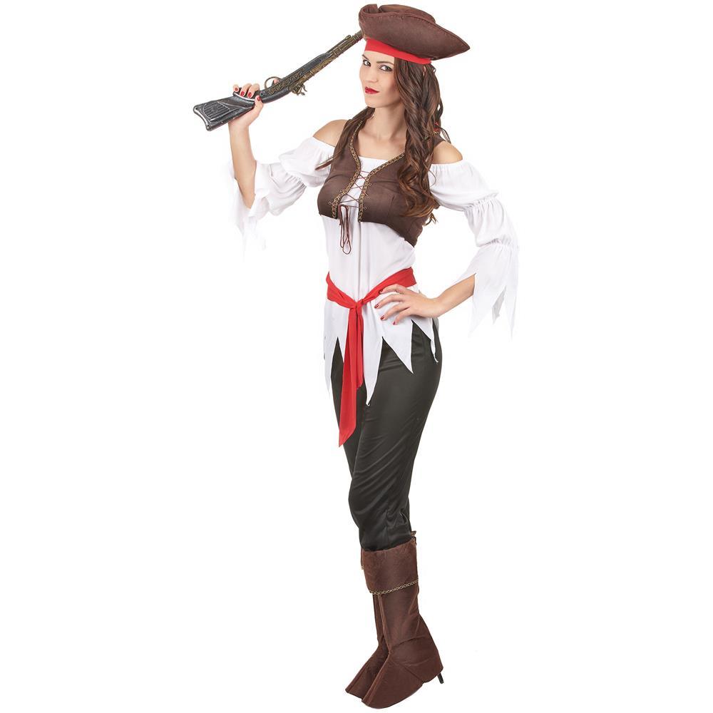 d1c12a411d1e9 JADEO - Costume Da Pirata Per Donna Small - ePRICE
