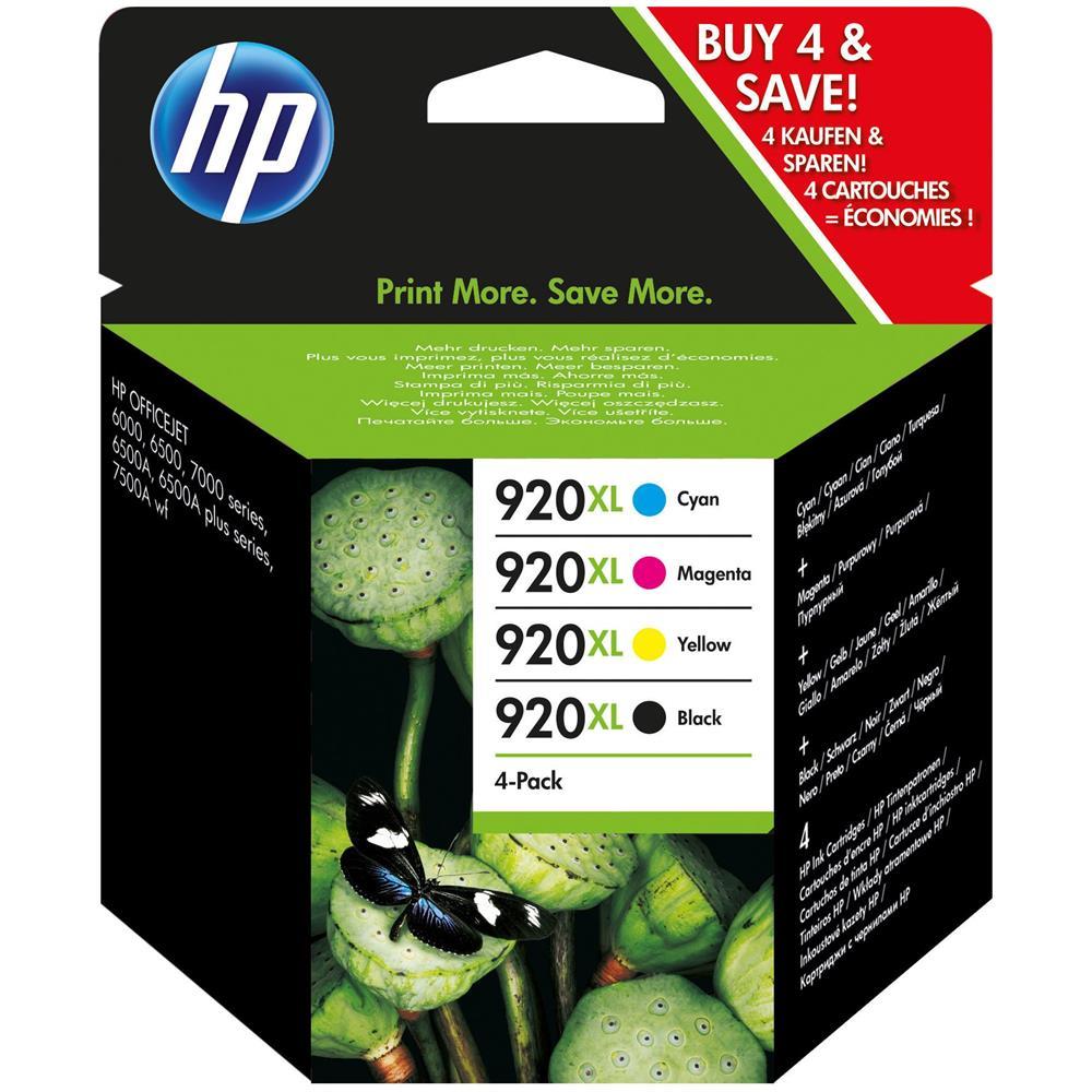 HP 920 XL Cartuccia di inchiostro ciano per Officejet 6000 6500 6500 A 7500A