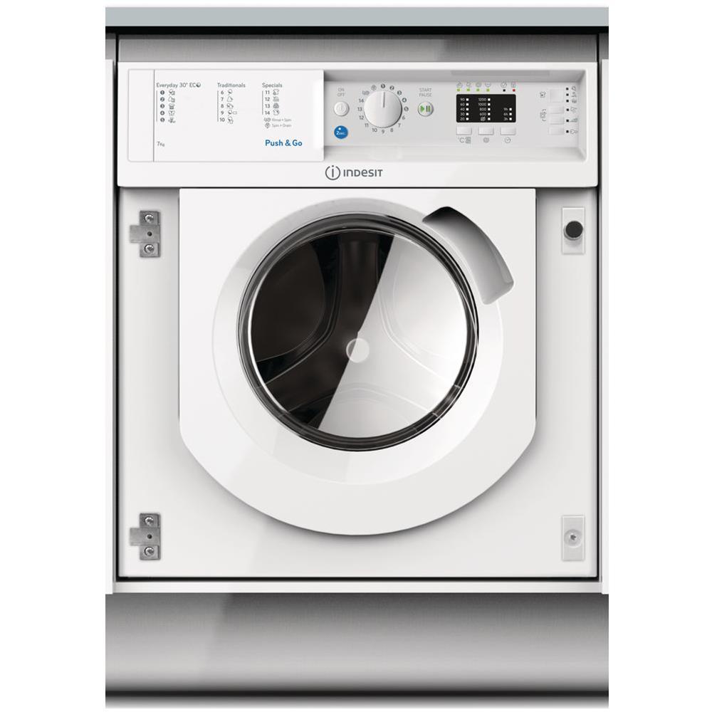 Mobili Per Lavatrici Ad Incasso.Indesit Lavatrice Da Incasso Biwmil71252eu 7 Kg Classe A