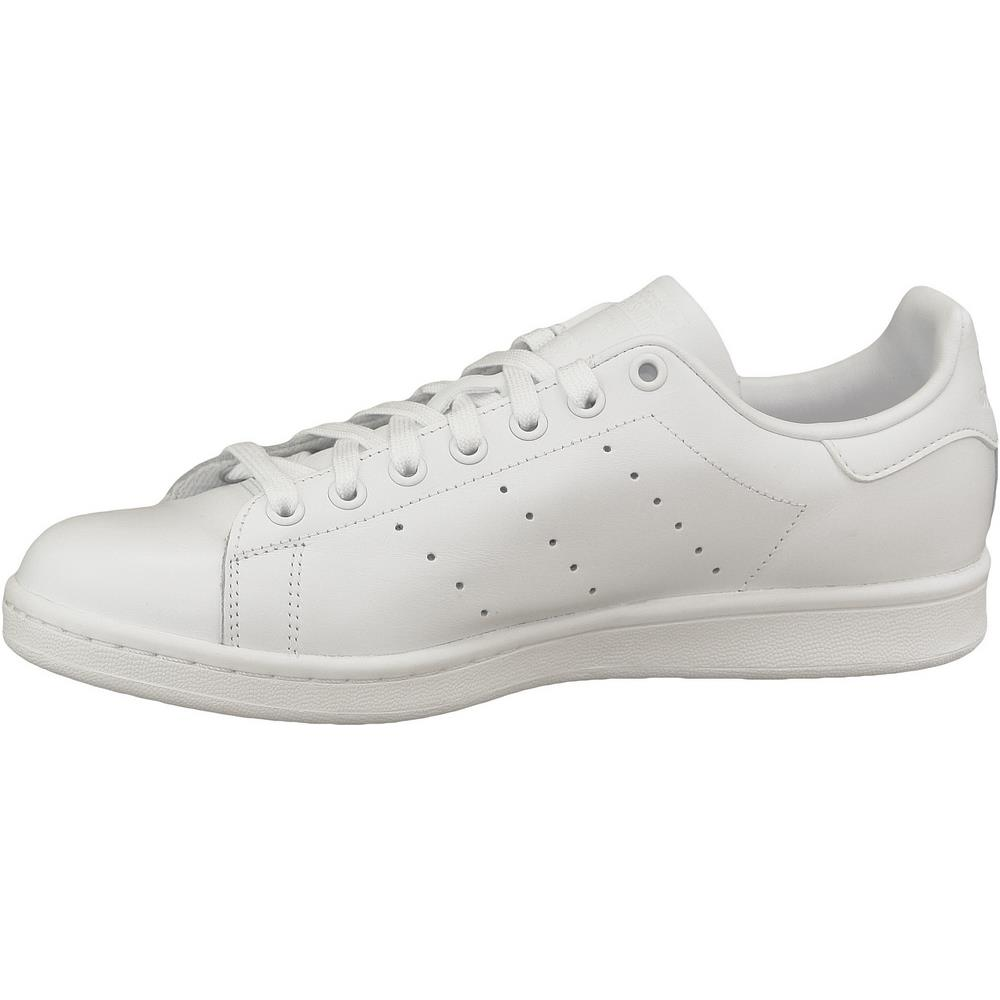 2adidas bianche in pelle