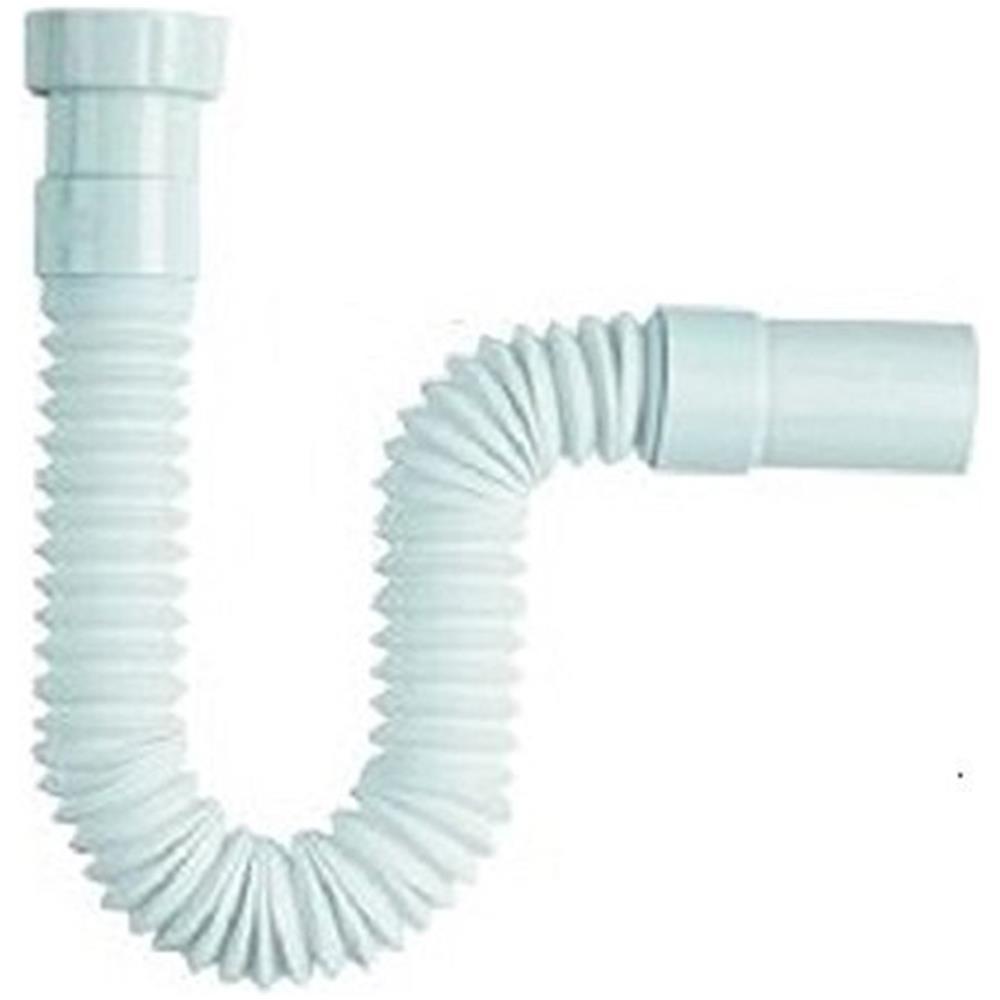 Tubo Scarico Lavandino Bagno trade shop tubo di scarico 1 1/2 acqua lungo per sifone flessibile lavabo  lavandino bidet