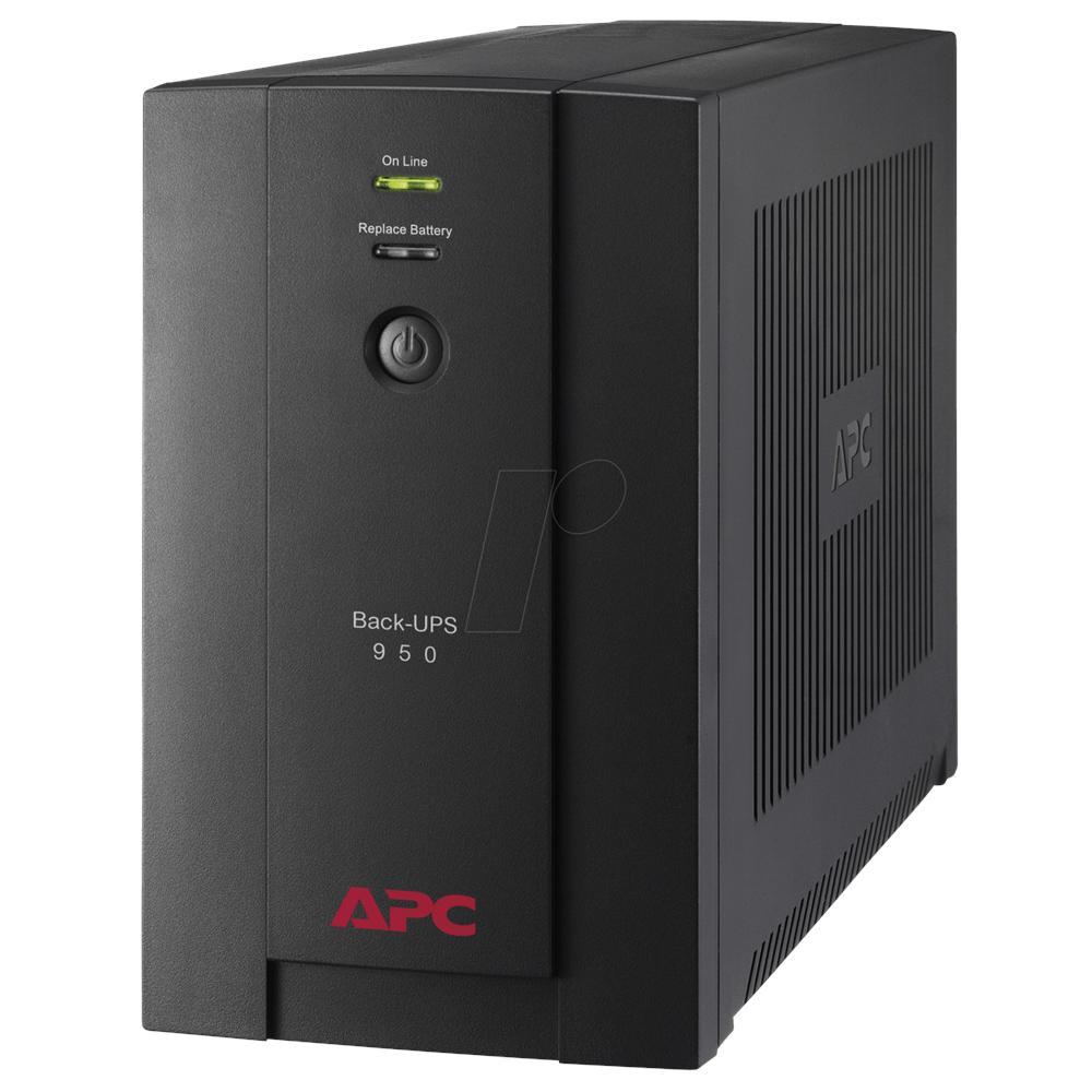 APC APC Back-UPS gruppo di continuità (UPS) A linea interattiva 950 VA 480 W 6 presa(e) AC