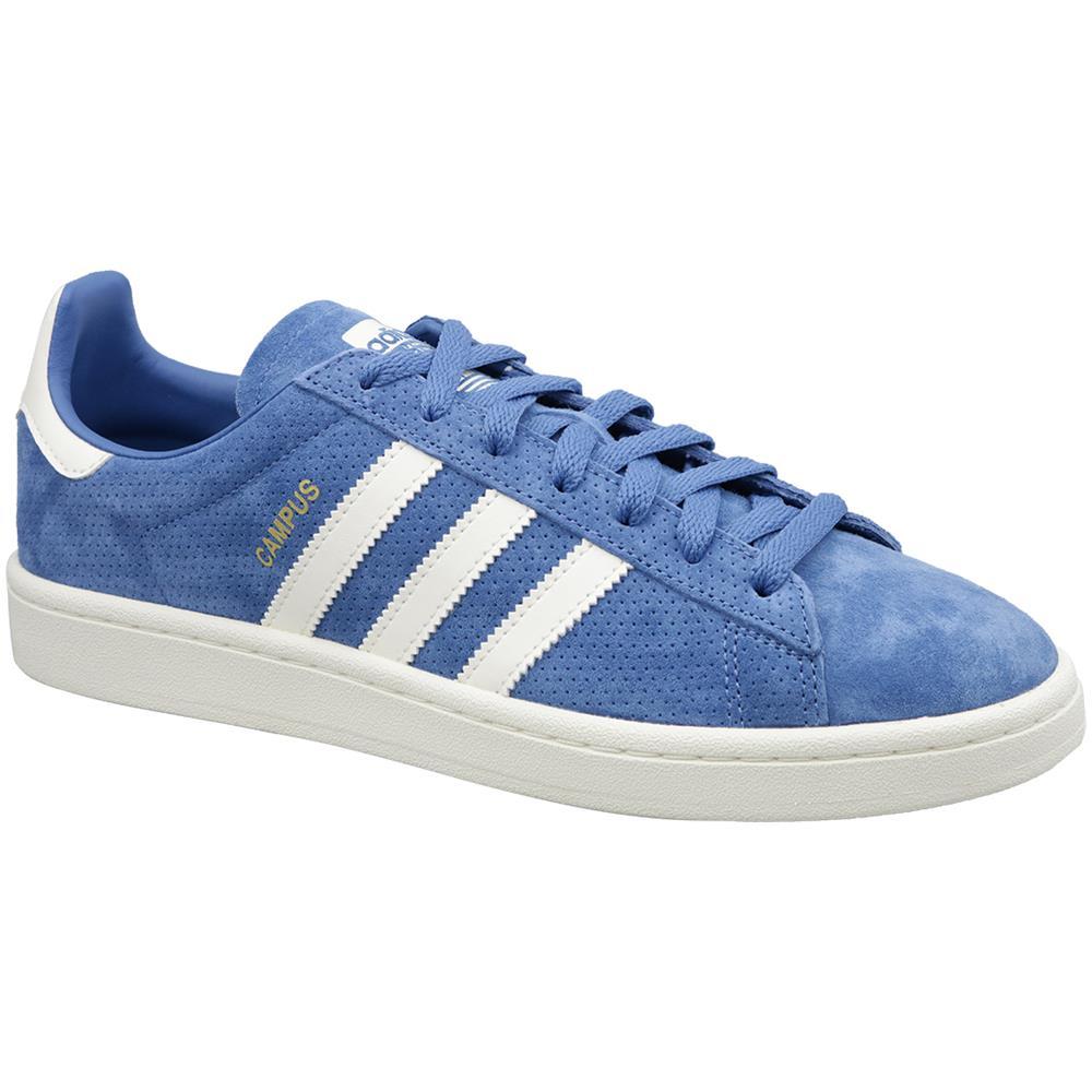 adidas Campus Cq2079, Uomo, Blu, Sneakers, Numero: 42 23 Eu