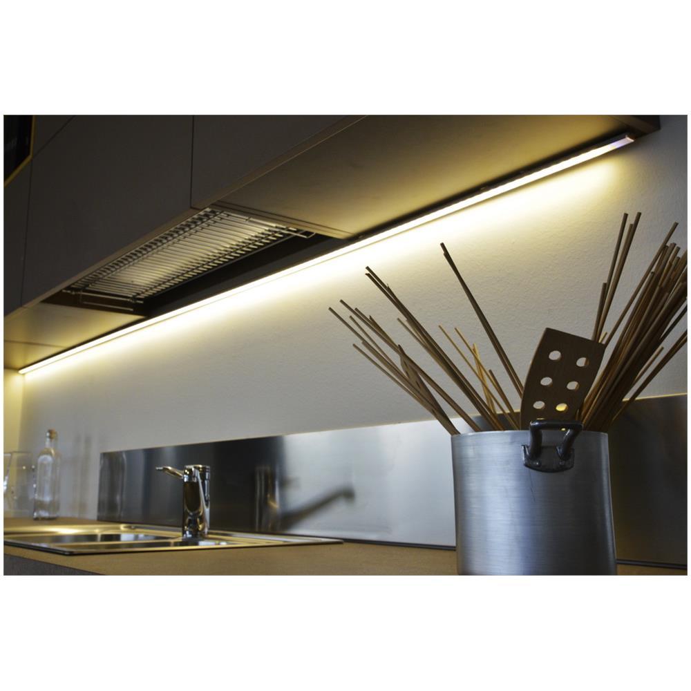Soled Illuminazione - Barra Led Profilo Angolare, 120 Cm Con Comando ...