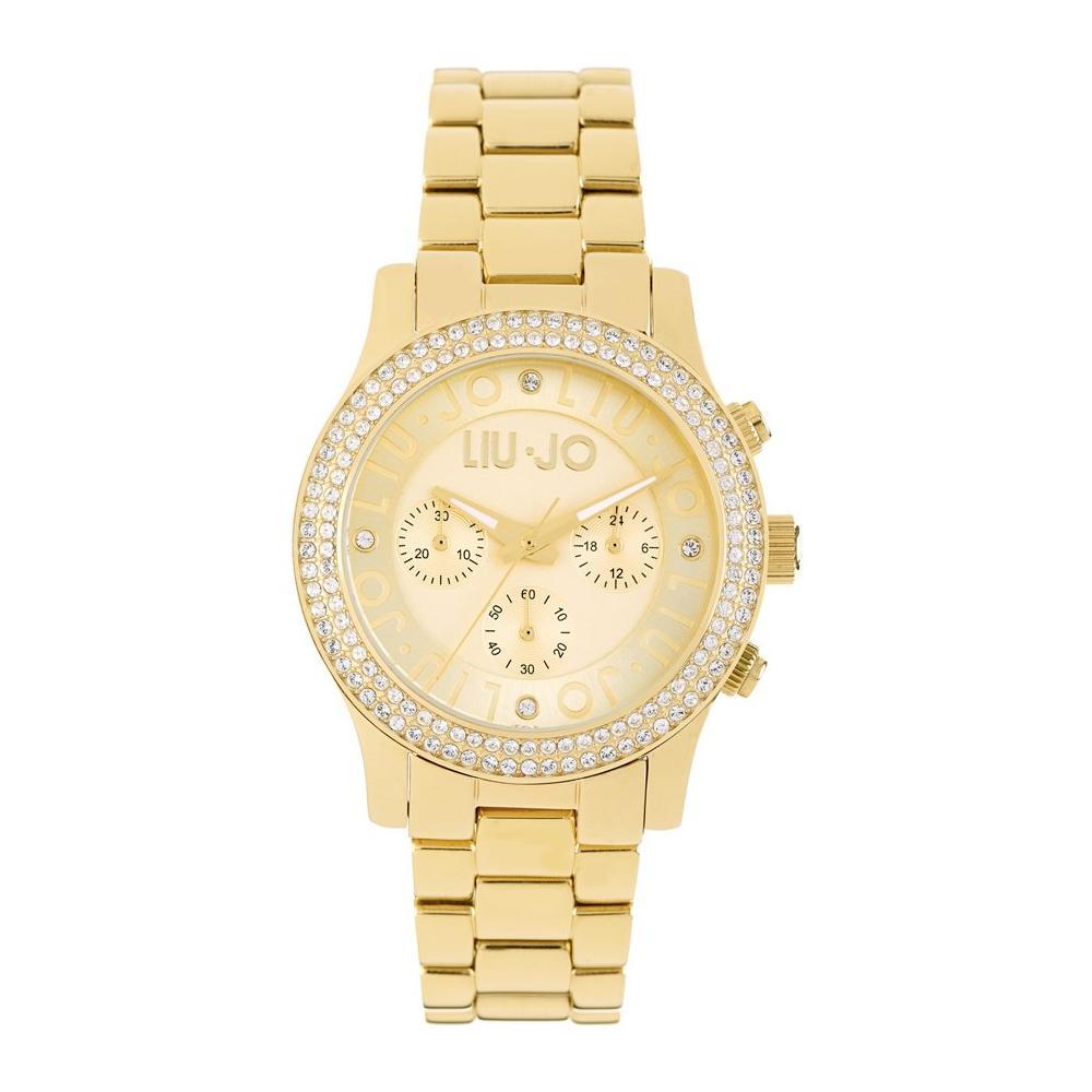 liu jo , Orologio Donna Tlj439 Quadrante Oro Cronografo con Cinturino Oro ,  ePRICE