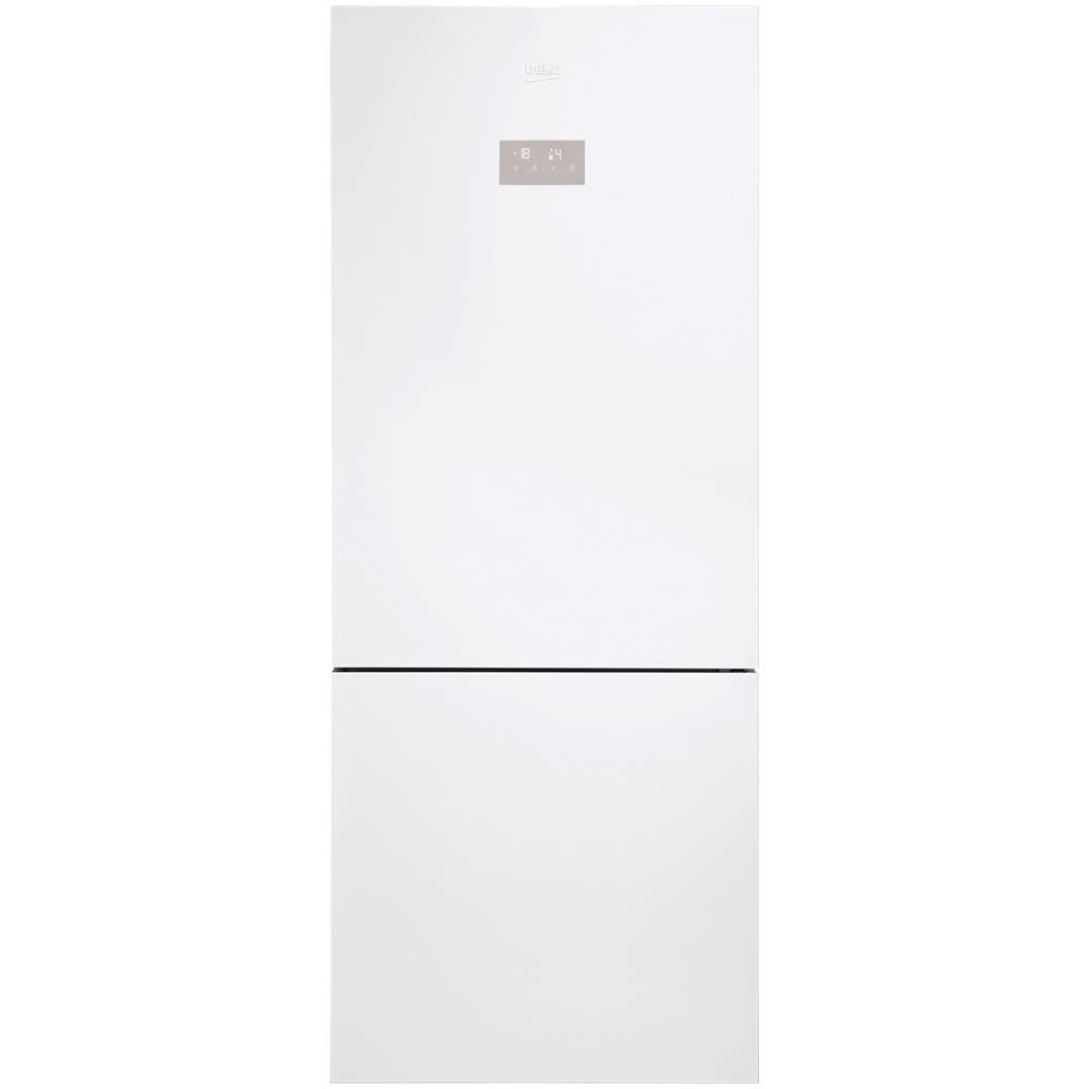 Come Pulire Un Frigorifero Usato beko frigorifero combinato cne520ee0zgw total neofrost classe a+++ capacità  lorda 475 litri colore cristallo bianco