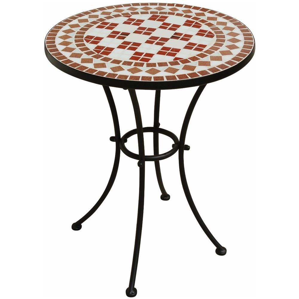 Tavoli Da Giardino Con Mosaico.Gruppo Maruccia Tavolo Da Giardino Con Top In Mosaico Di Ceramica