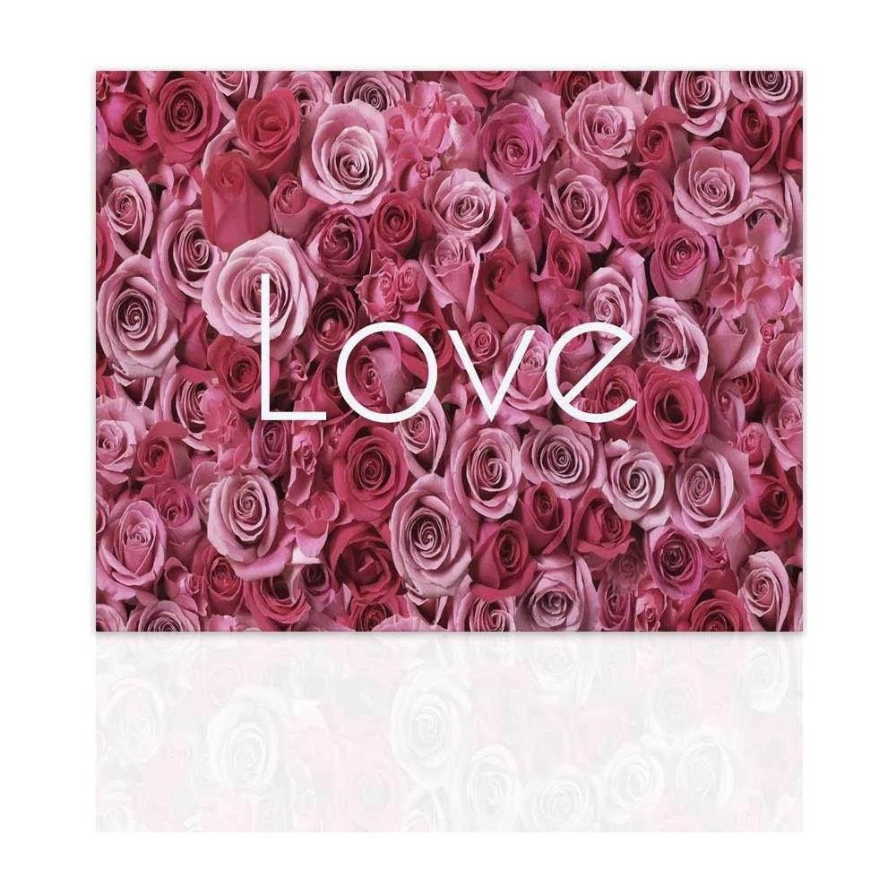 Declea - Quadro Con Fiori Rose Arredo Moderno Quadro Moderno Su Tela ...