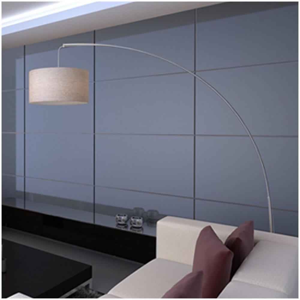 vidaXL Lampada da terra ad arco 192 cm con paralume in carta di riso