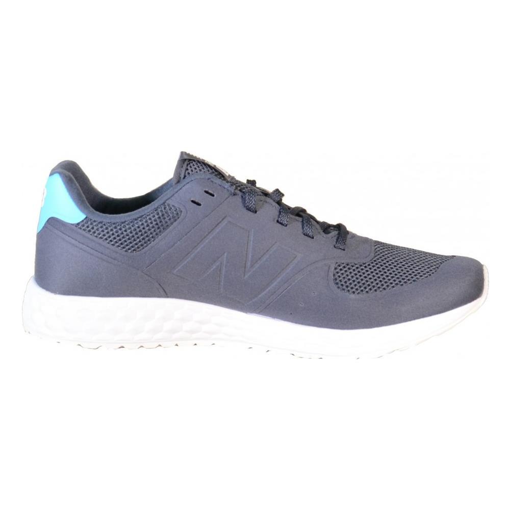 Uomo Foam Scarpe Balance New Blu Sportive Mesh Fresh Pelle wX16ZAqxO