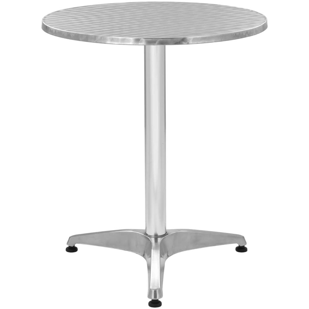 Tavoli Da Giardino In Alluminio.Vidaxl Tavolo Da Giardino In Alluminio Rotondo 60x70 Cm Eprice