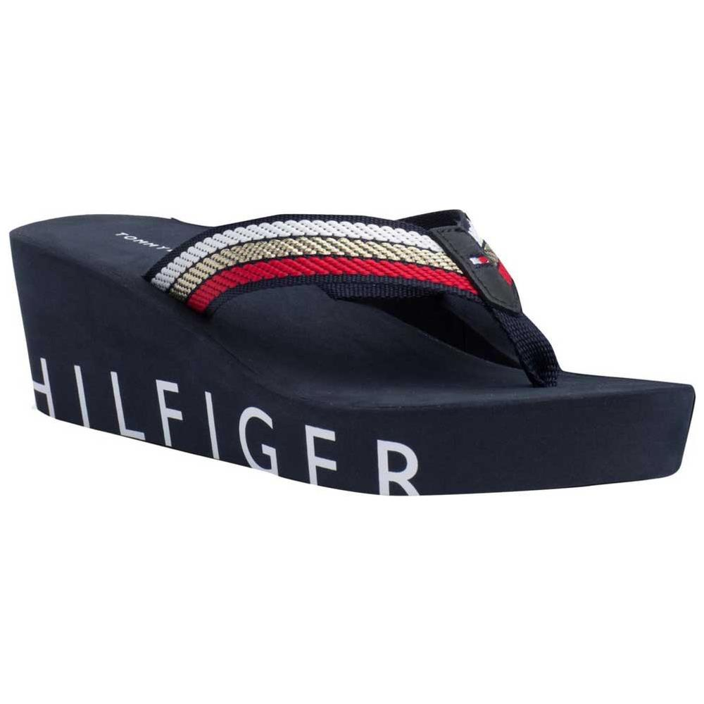 TOMMY HILFIGER Infradito Tommy Hilfiger Iconic Wedge Beach Scarpe Donna Eu 40