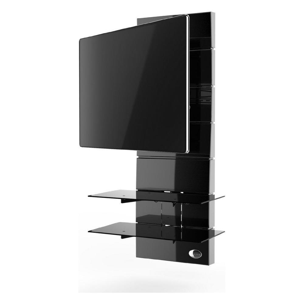 Meliconi Ghost Design 2000 Supporto Per Tv Lcd Al Plasma.Meliconi Mobile Tv Ghost Design 3000 Rotation Per Schermi Led Lcd Plasma 32 63 Portata Max 30 Kg Colore Nero