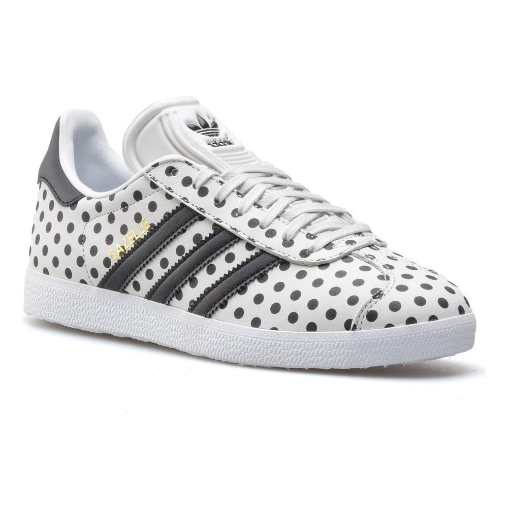 Colore Taglia Scarpe 39 Adidas W 3 Gazelle Bianco Eprice Cq2179 34R5jAL
