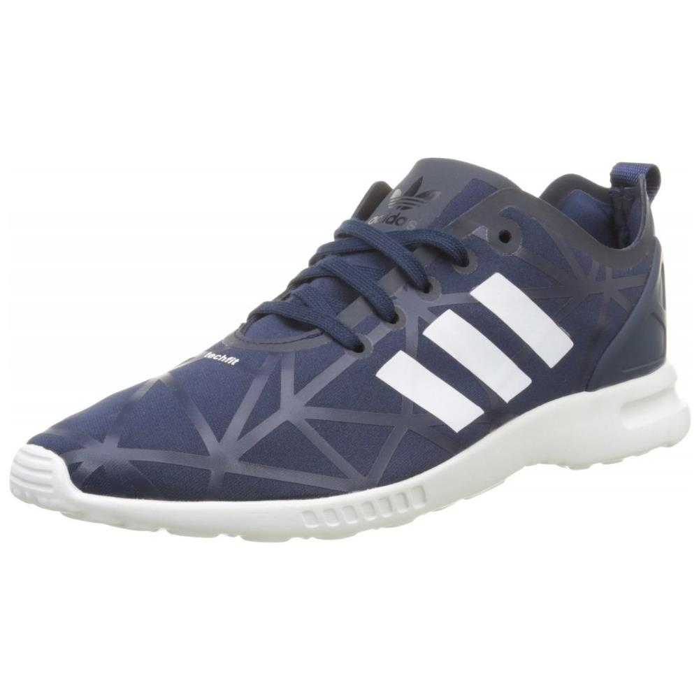 Adidas Zx Flux Adv Smooth Scarpe Sportive Blu S79503 43,5. Zoom