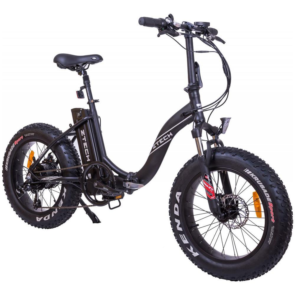 Ztech Fat Bike Bicicletta Elettrica Pieghevole A Pedalata