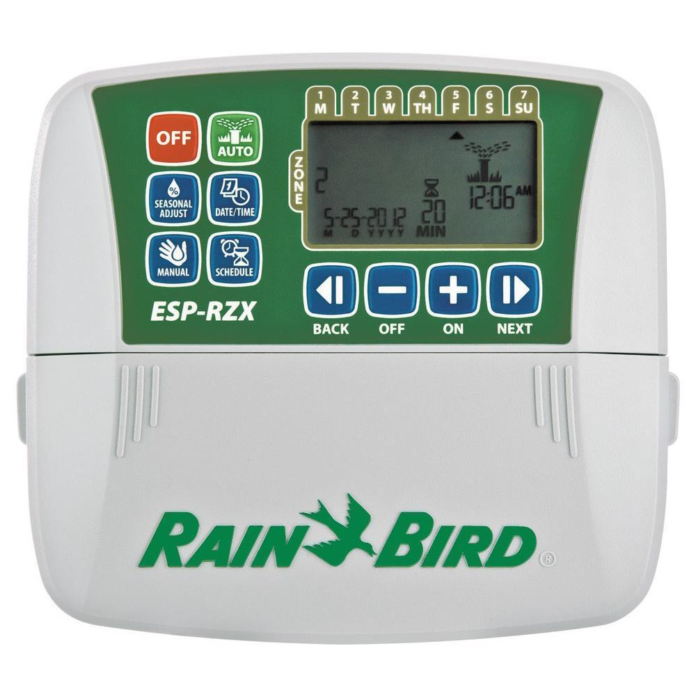 Rain Bird Rzx6i Programmatore Per Irrigazione A 6 Stazioni Per Interno