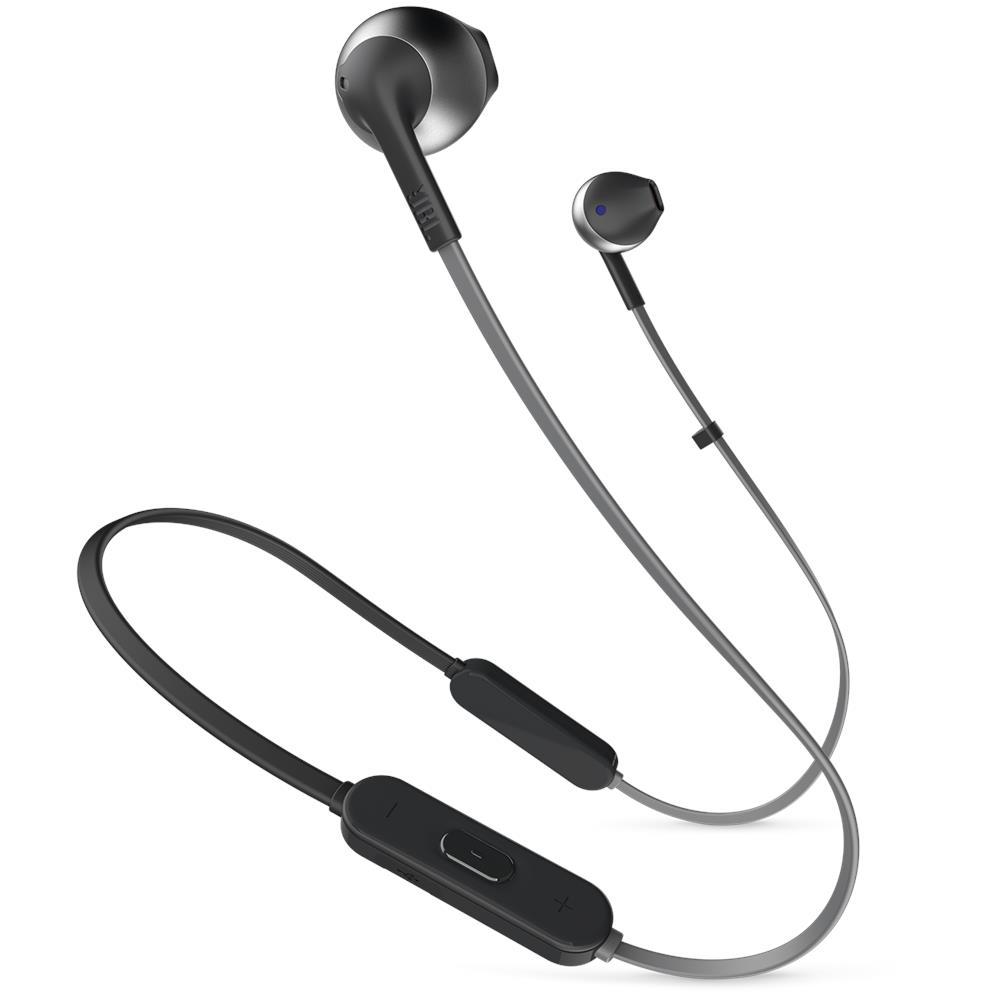 JBL Auricolari Tune 205BT Wireless Bluetooth con Microfono e Comando  Universale Colore Nero. Zoom 4880b5724bab