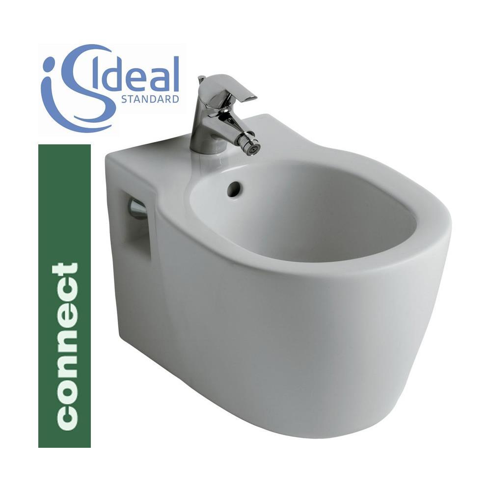 ideal standard connect  IDEAL STANDARD - Bidet Sospeso Monoforo Connect E799701 - Bianco ...