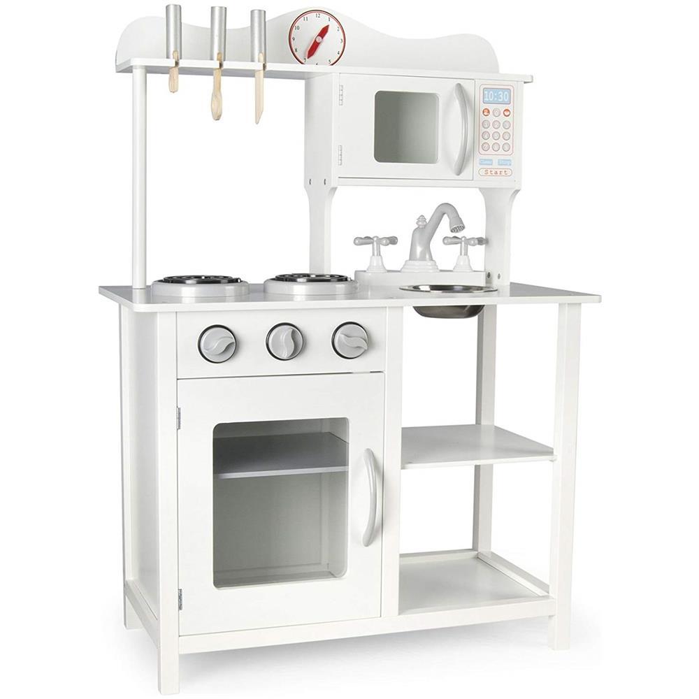 Leomark - Cucina White Classic Classica Bianca Cucina Giocattolo Per ...