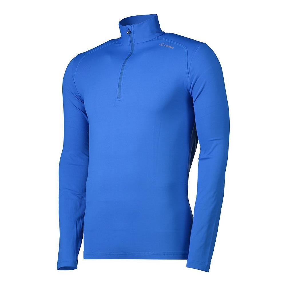 loeffler zip uomo  Loeffler - Magliette Loeffler Thermo Suede Zip Sweater Basic ...