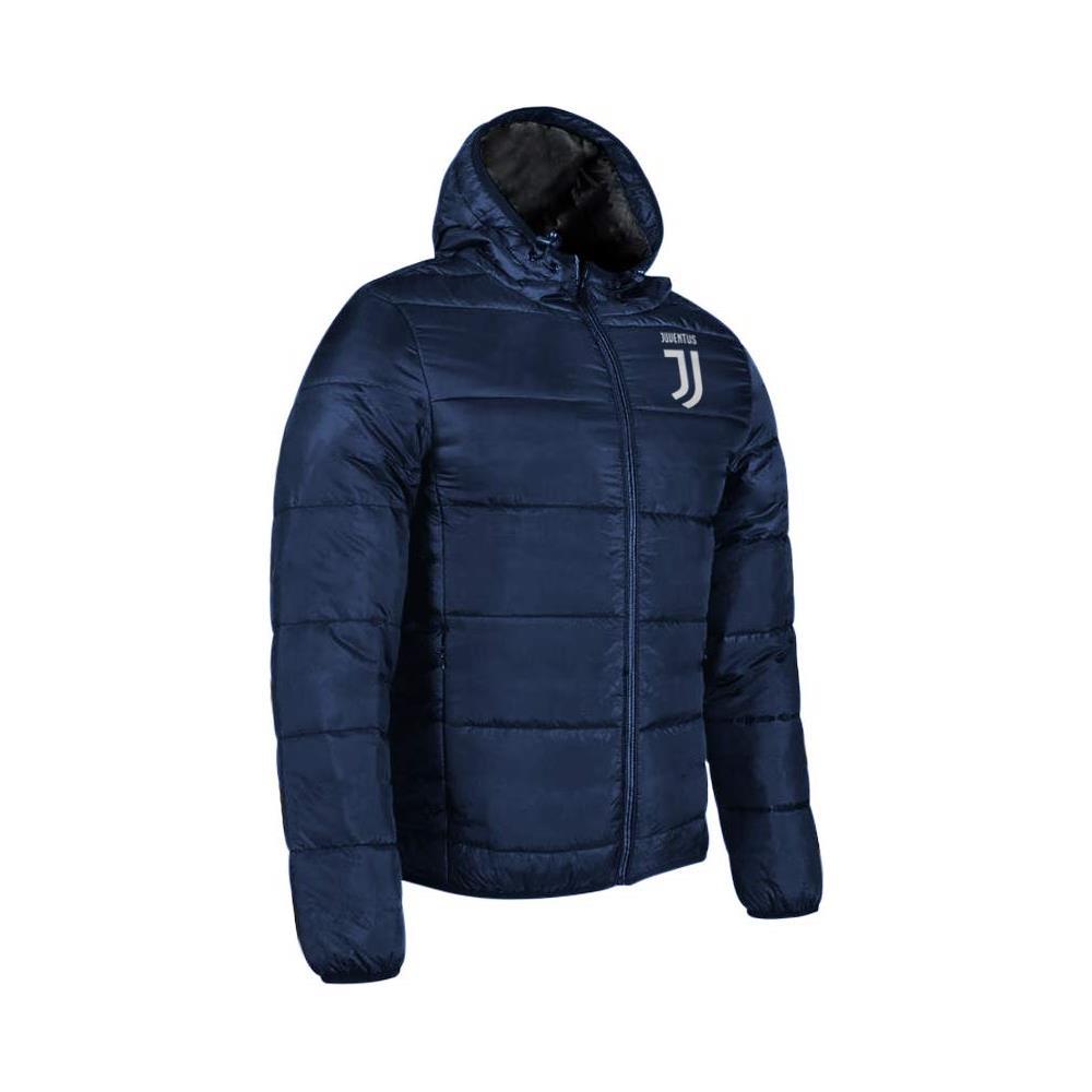 buy popular 691bf 341d8 MIGLIARDI Piumino Imbottito Giacca Con Cappuccio Bomber Juventus Prodotto  Ufficiale Ragazzo Uomo (blu Navy) Taglia M