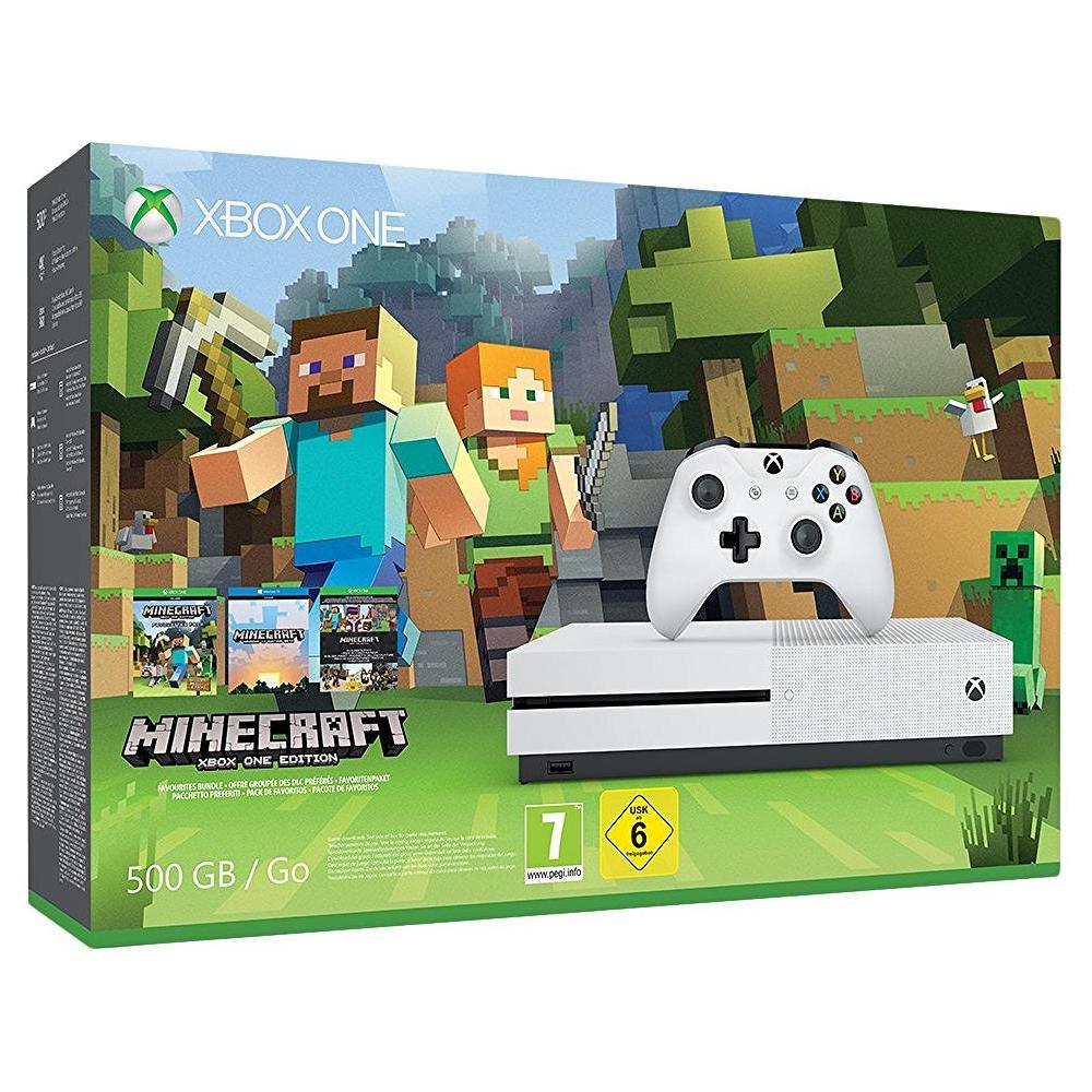 Console Xbox One S 500 Gb + Minecraft Limited Bundle