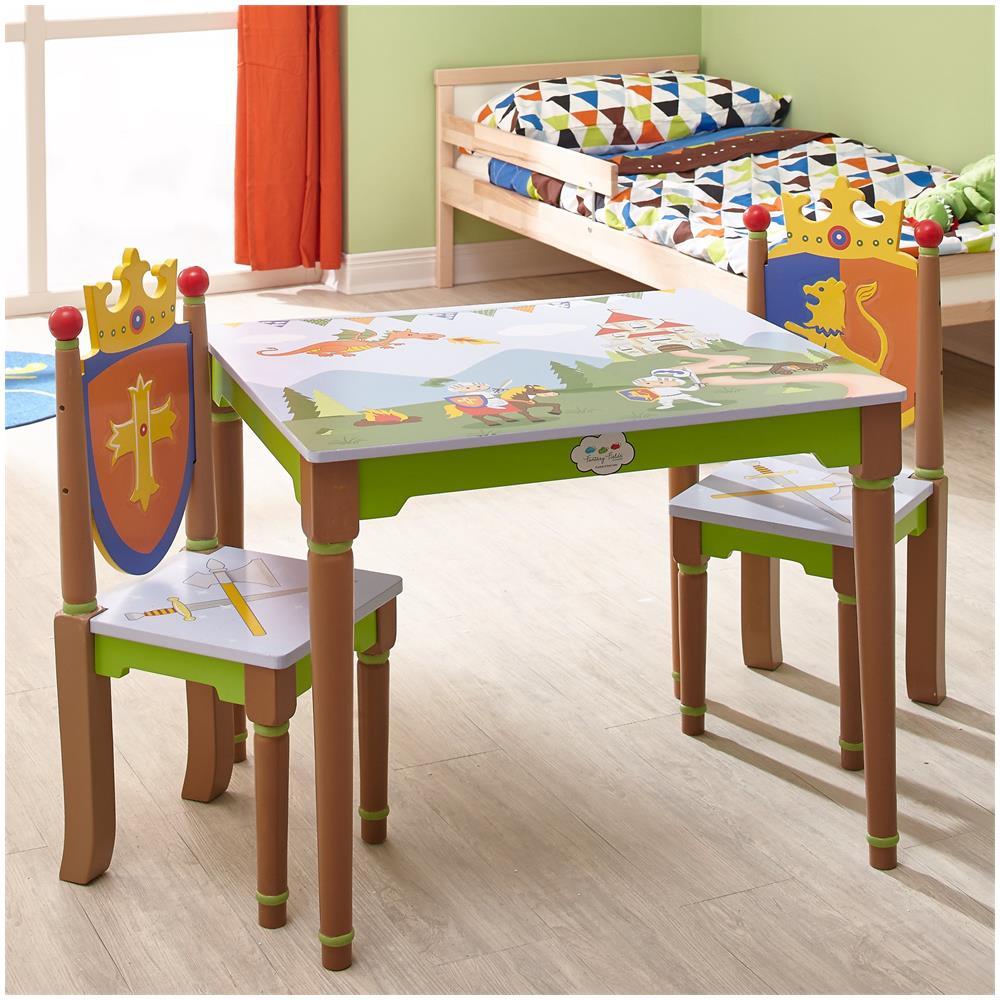 Sedie E Tavoli In Legno Per Bambini.Fantasy Fields Set Di Sedie E Tavolo Legno Bambini Fantasy Fields