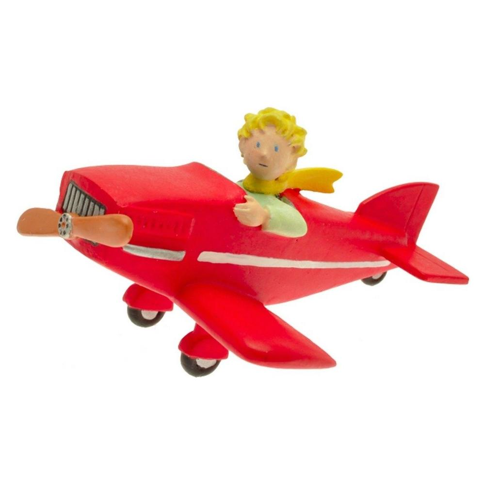 61029 - Piccolo Principe - Miniature Principe In Aeroplano