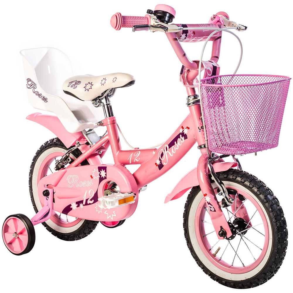 Flli Schiano Bicicletta Bambina Roses 12 Rosa Fucsia Eprice