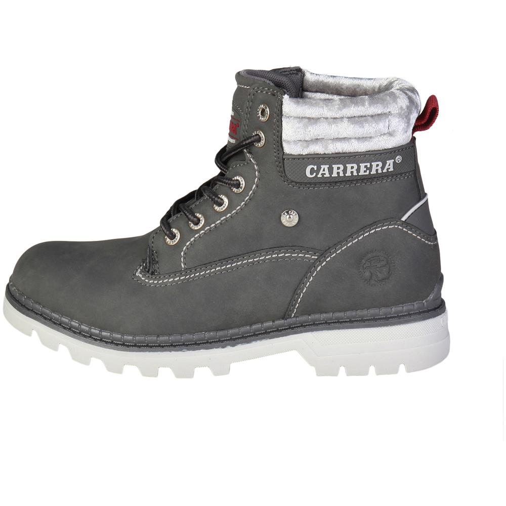 9dd45e0517 Carrera Jeans Stivaletti Carrera Jeans Grigio Tennesse caw721001-02nbkash  Donna Taglia41