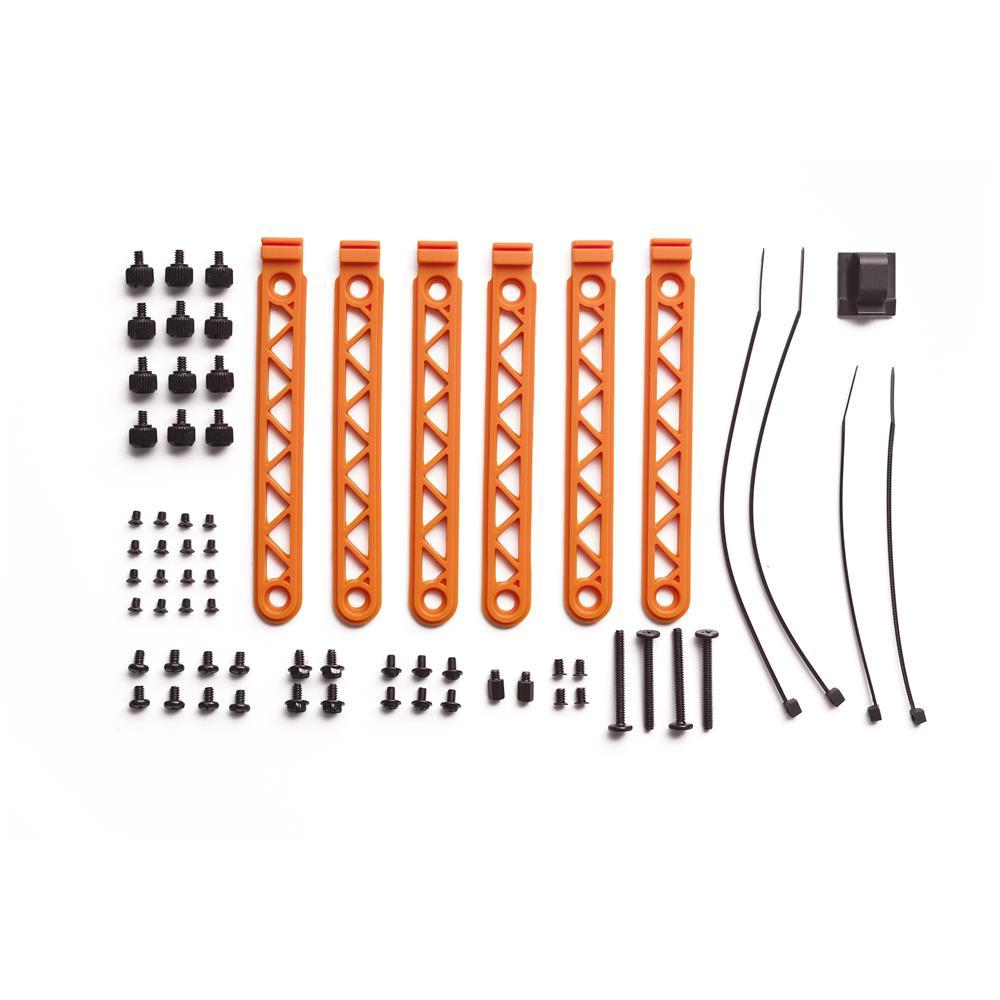 ! Silent Base 600 - Nero / Arancione con Finestra