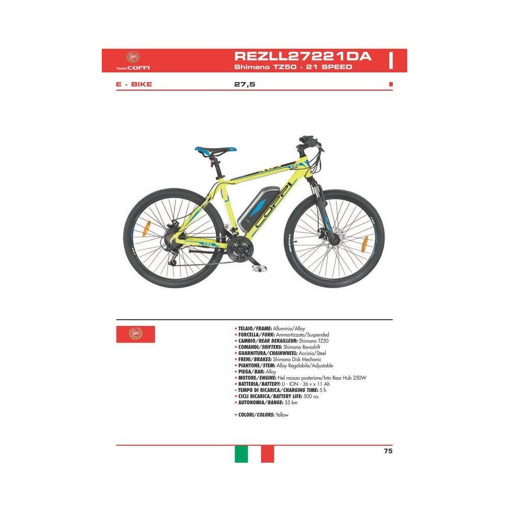 Flli Masciaghi Bicicletta Fausto Coppi Bicicletta Elettrica A