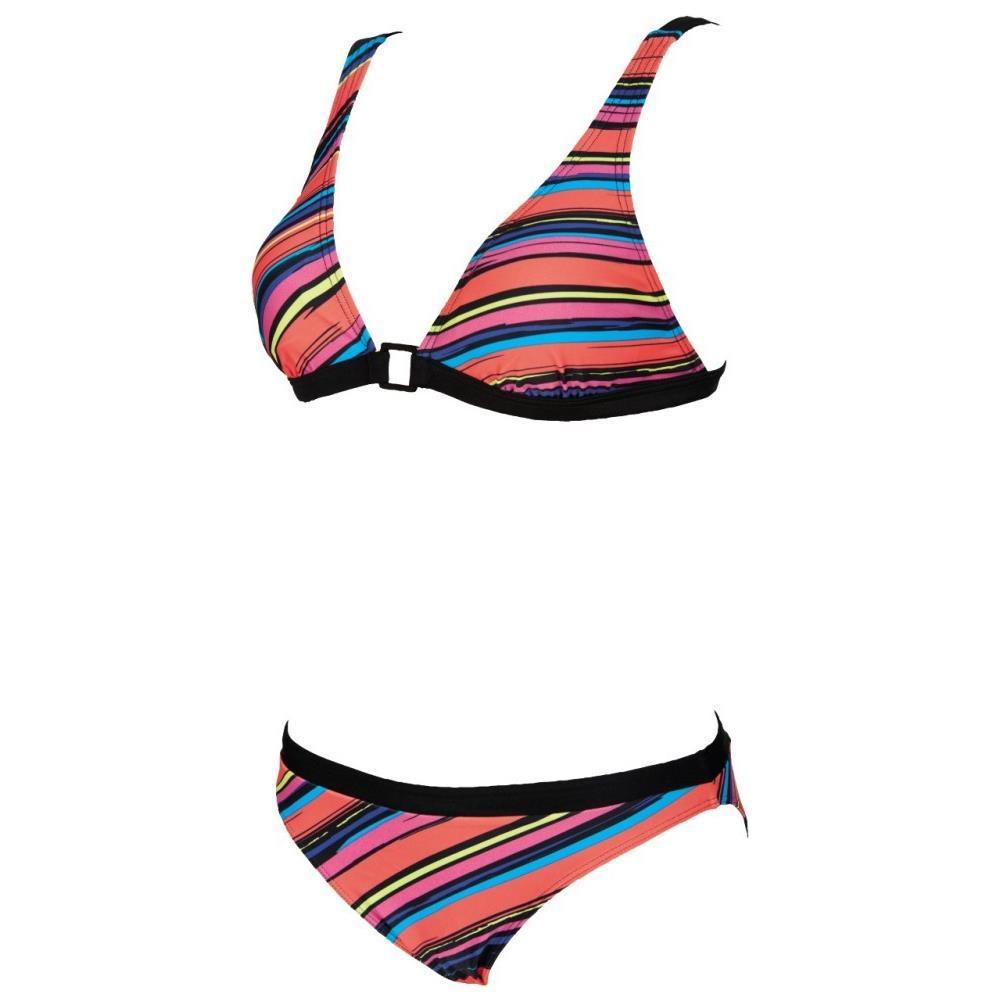 b863c0ead7e3 Arena - Costume Donna Stripes Ring Bra Nero Fantasia 42 - ePRICE