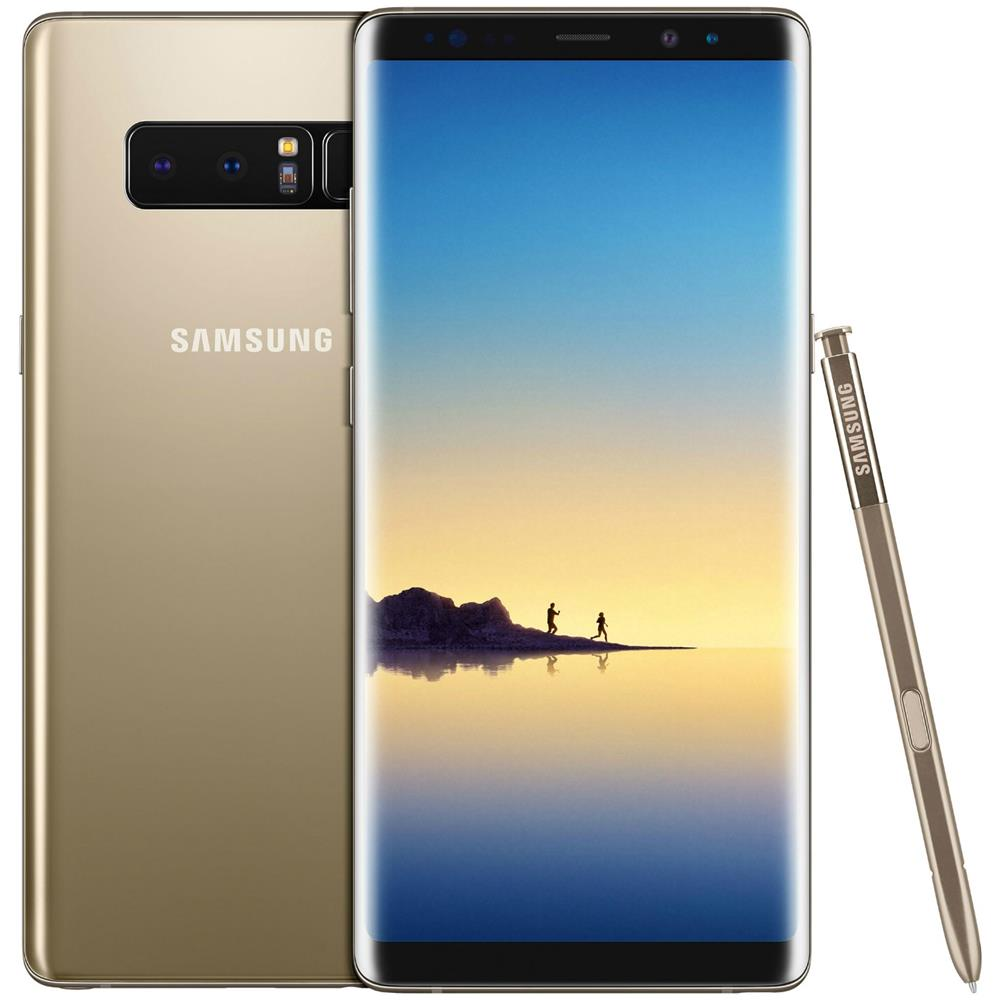 bc0754241ce9 SAMSUNG - Galaxy Note 8 Oro 64 GB 4G / LTE Impermeabile Display 6.3