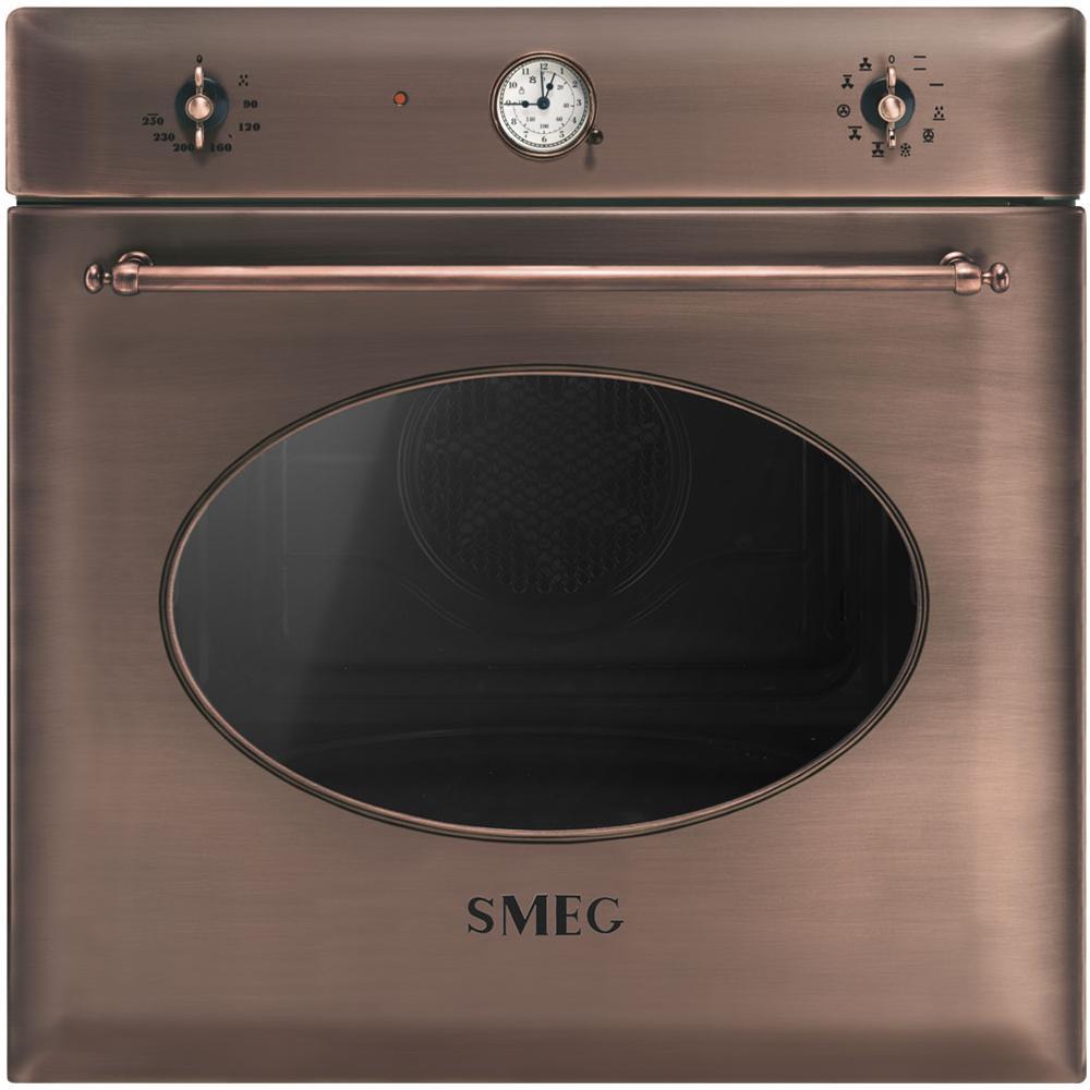 SMEG Forno Elettrico da Incasso SF855RA Capacità 70 L Multifunzione  Ventilato Pulizia a Vapore Potenza 3000 W Colore Rame