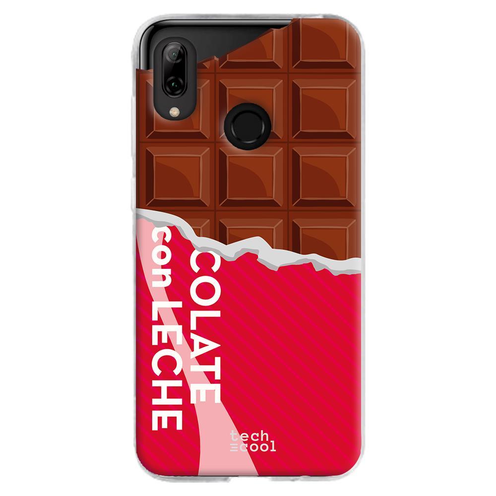 TECHCOOL Custodia Per Huawei P Smart 2019 L Cover Silicone Disegno Del Cioccolato Tablet Versetto 2