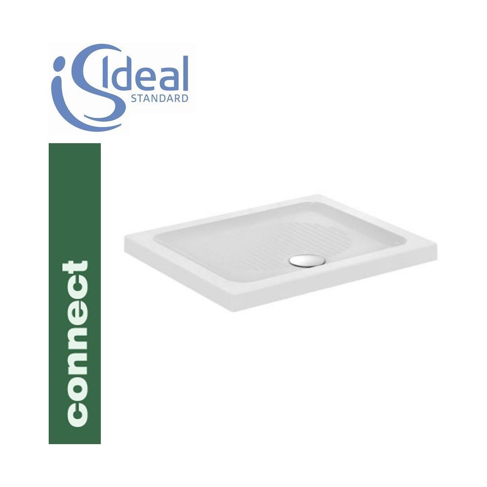 Piatto Doccia Connect Ceramica.Ideal Standard Piatto Doccia Ceramica Connect 90x75 Bianco A