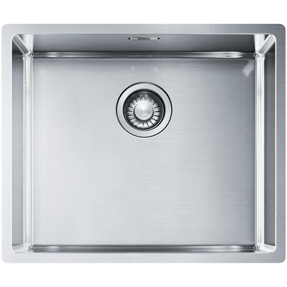 Misure Lavello Cucina Una Vasca.Franke Lavello Bxx 210 110 50 1 Vasca Dimensioni 54 X 45 Cm Colore Inox Satinato Serie Box Eprice