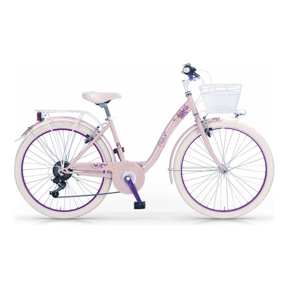 Mbm Bicicletta Fleur Da Bambina Di Mbm Con Telaio 34 Cm In Acciaio