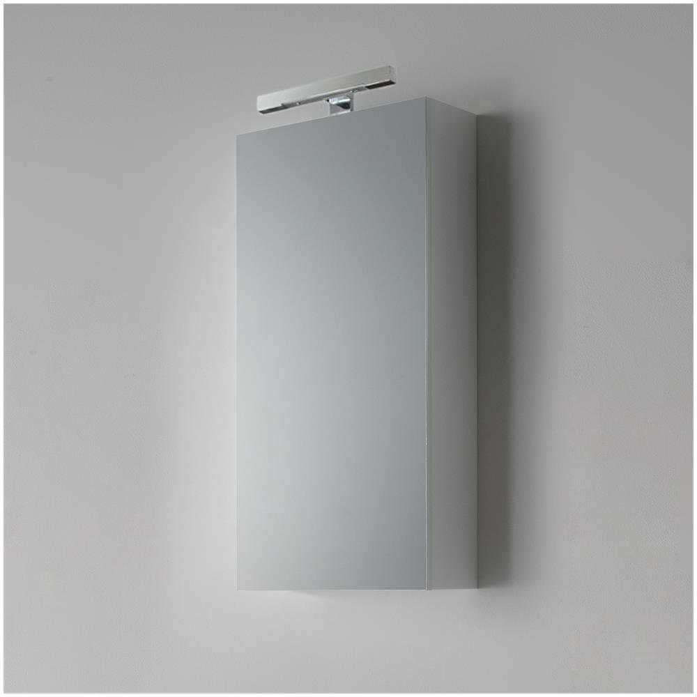 Lampada Sopra Specchio Bagno kiamami valentina specchio bagno contenitore da 45 cm con lampada modello  agata penelope